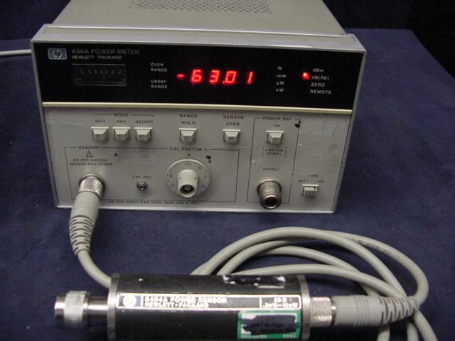 Hp equipment hp 435b hp8484a 11730a rf freerunsca Choice Image