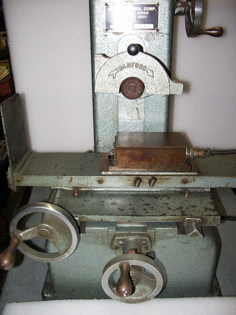 sanford surface grinder page 2
