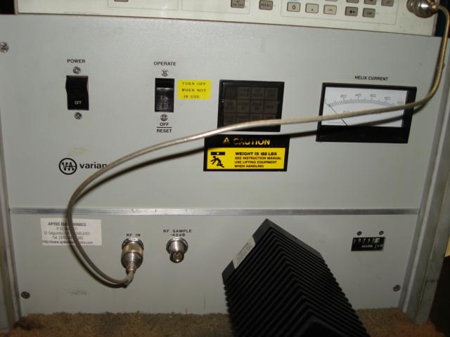 One good used Avantek AFT 4232 RF amplifier 2-4GHz,23dB gain,13dBm,12V working!